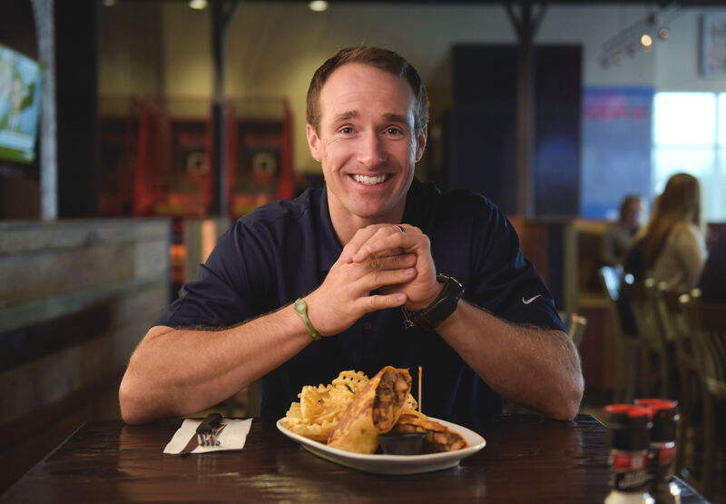 Drew became a committed fan of Walk-On's Southern food not long after arriving in New Orleans.